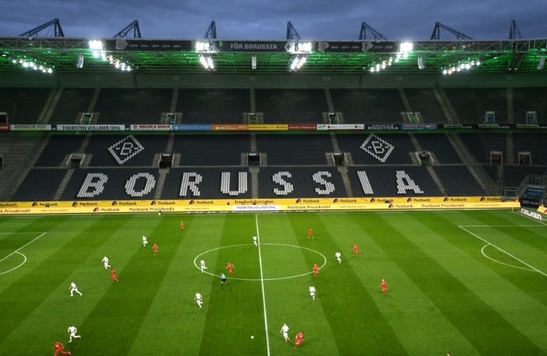 cologne said it would continue to train in preparation for the campaign to resume with further tests to be carried out as part of the league 039 s health and safety protocol photo afp