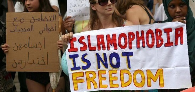 a file phot of protesters demonstrating against islamophobia in london britain august 25 2016 photo reuters