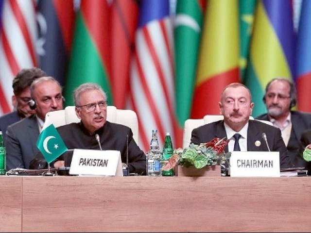 president alvi had represented pakistan at the 18th summit of nam in baku in october 2019 photo inp file