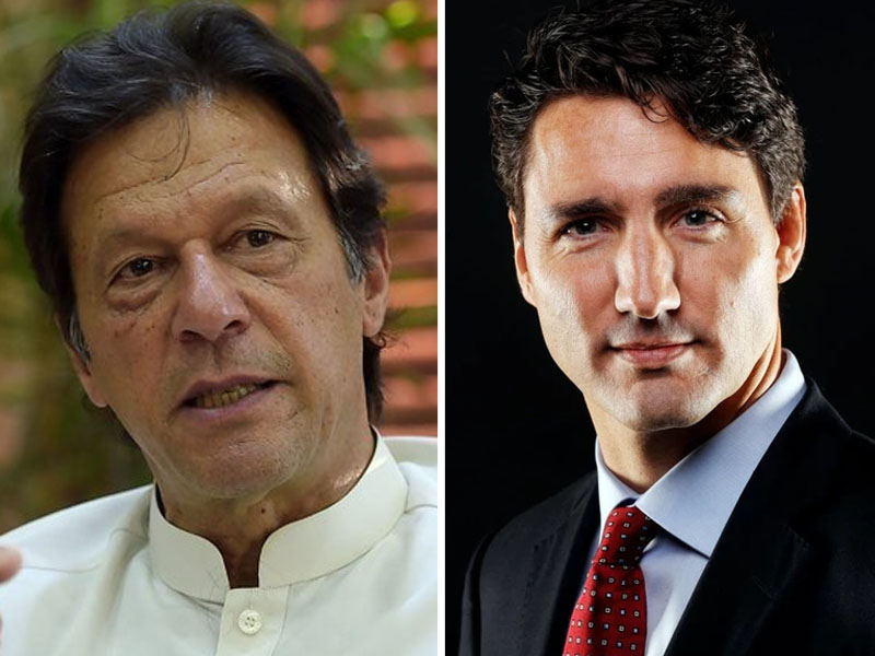 pm imran his canadian counterpart trudeau discuss pandemic over phone