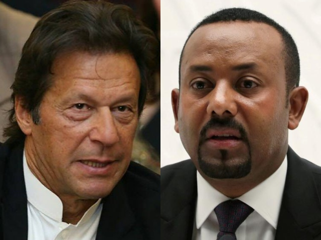 the discussion between prime minister imran khan and his ethiopian counterpart prime minister abiy ahmed ali focused on debt relief matters including the premier 039 s global initiative for debt relief for developing countries photo file