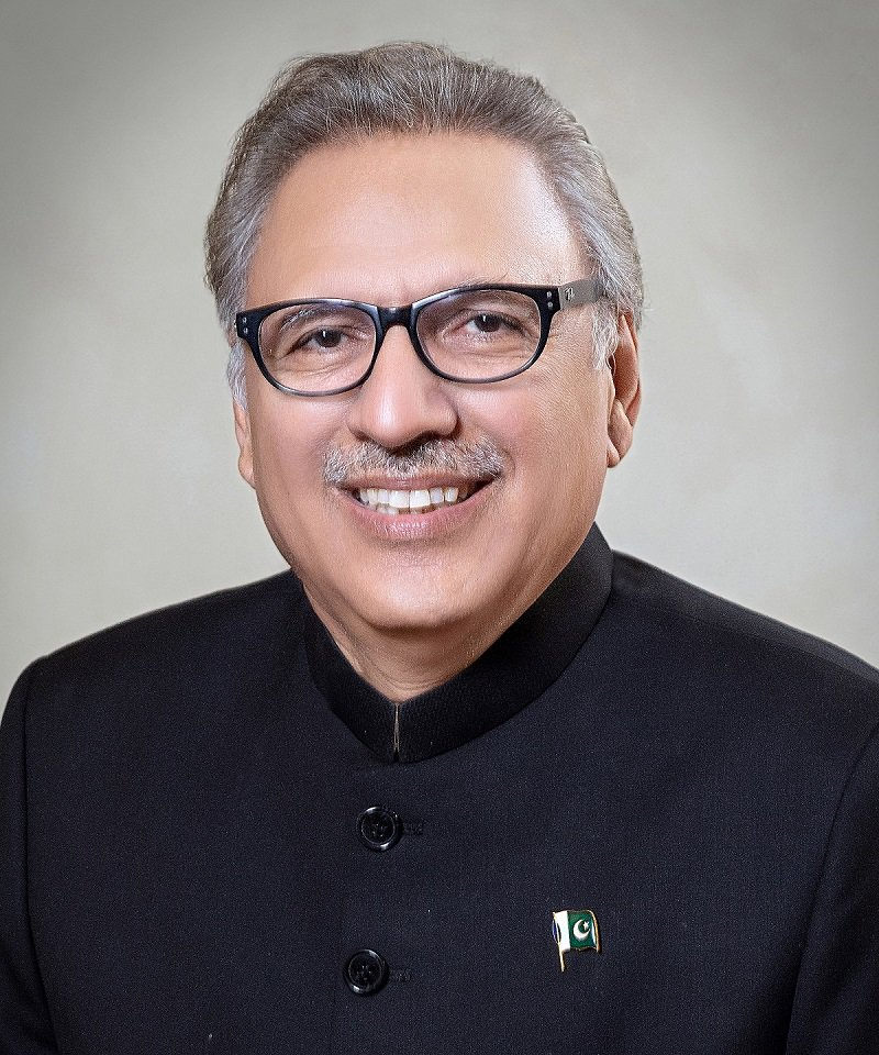 alvi floats idea during virtual summit of nam convened by azerbaijan photo pid file
