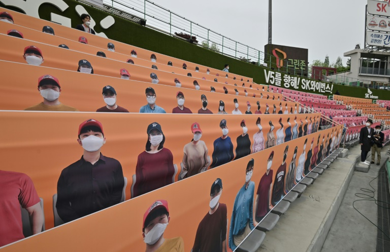 espn announced it will show six kbo league games per week to fans pining for live baseball in the us photo afp