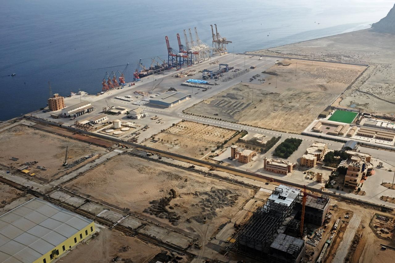 a general view of gwadar port in gwadar balochistan photo reuters