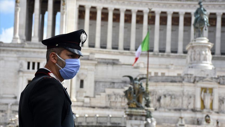 the epicentre of the outbreak in italy remains the northern lombardy region where fatalities keep rising reaching 14 389 almost half of the country 039 s total deaths photo aa