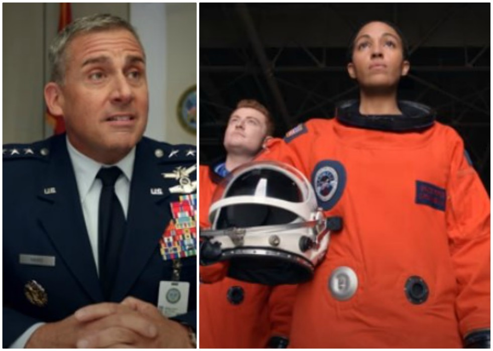 steve carell teams up with the office creator for new show called space force