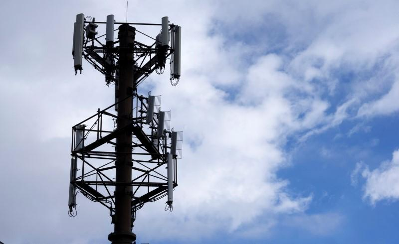 a telecommunications tower photo reuters