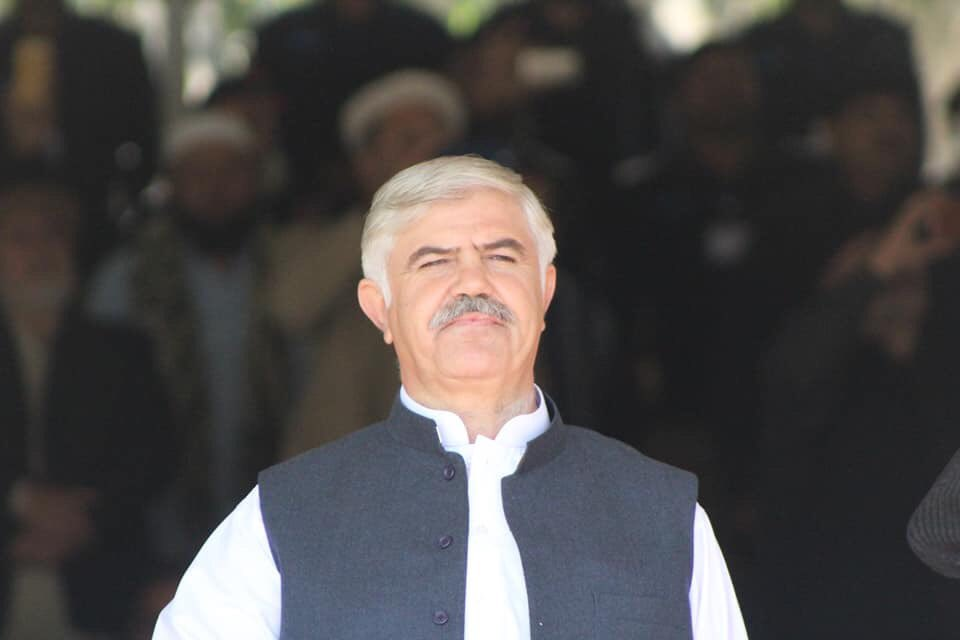 khyber pakhtunkhwa chief minister mahmood khan photo pti