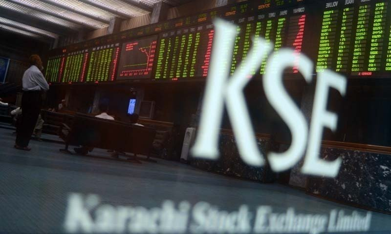 benchmark index falls 424 02 points to settle at 33 304 16 photo afp