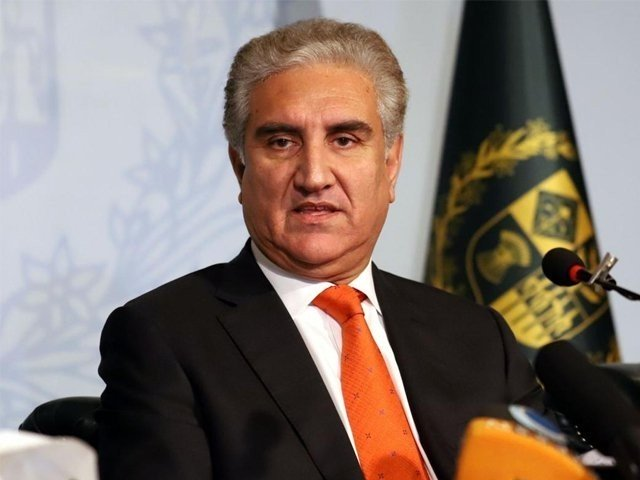 foreign minister qureshi says government plans to save both lives and livelihood photo express