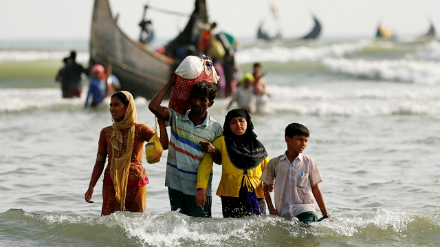 authorities said the 29 rohingya were relocated to the controversial bhasan char island to prevent coronavirus outbreak in the refugee camps photo reuters