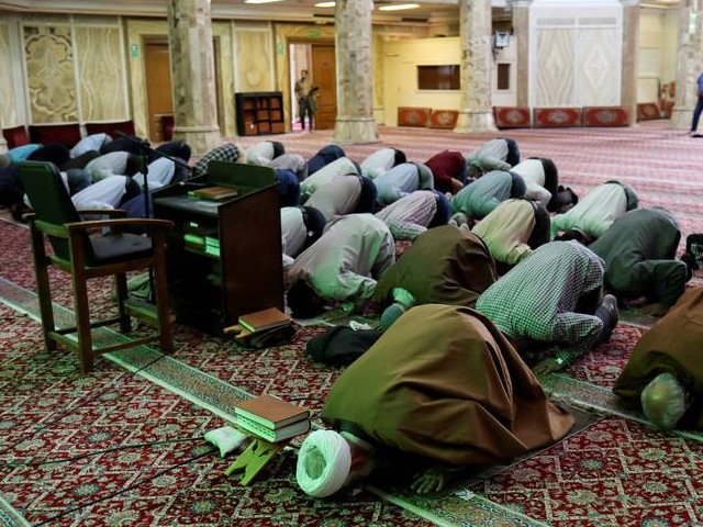 the resumption of mass prayers followed the reopening on monday of 132 mosques in areas consistently free of the coronavirus outbreak photo reuters