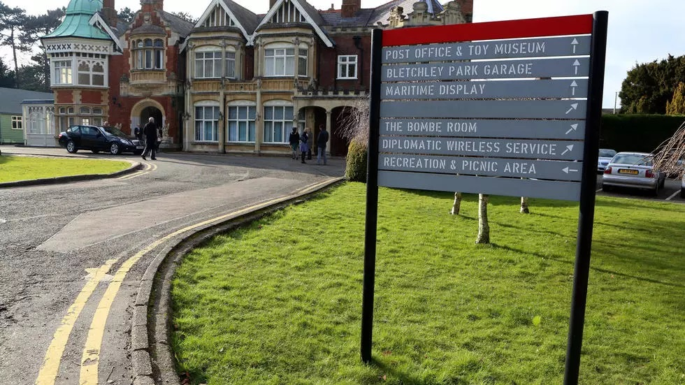the codebreakers at bletchley park in central england are famous for having helped break the germans 039 enigma code during world war ii photo afp