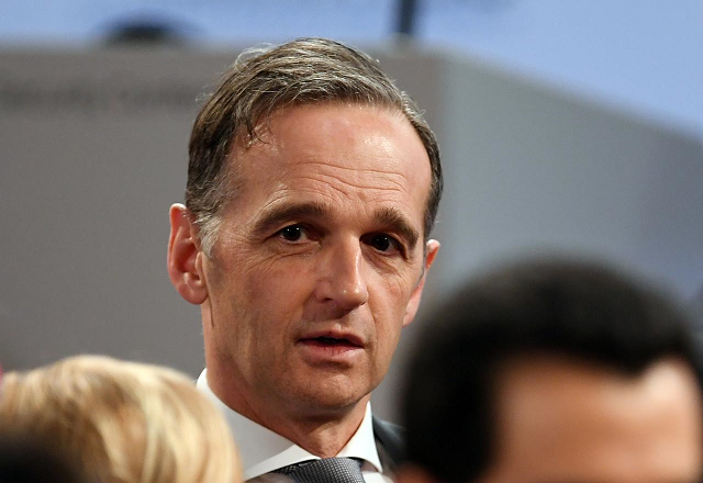 german foreign minister heiko maas attends the annual munich security conference in munich germany february 14 2020 photo reuters