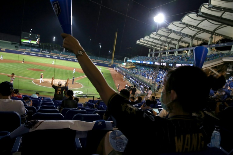 baseball is the most popular sport in taiwan with some 240 games scheduled for the current season photo afp