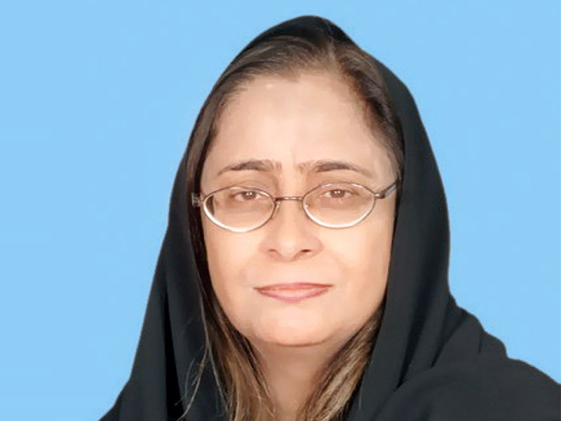 sindh health minister dr azra pechuho photo file