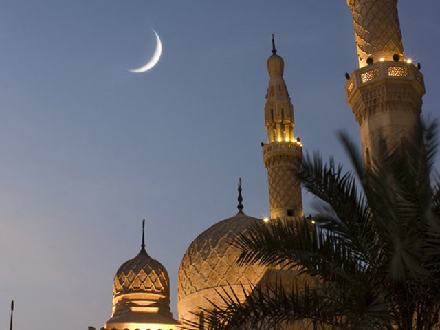 new moon is less likely to appear on may 23 or the 29th of ramazan photo file
