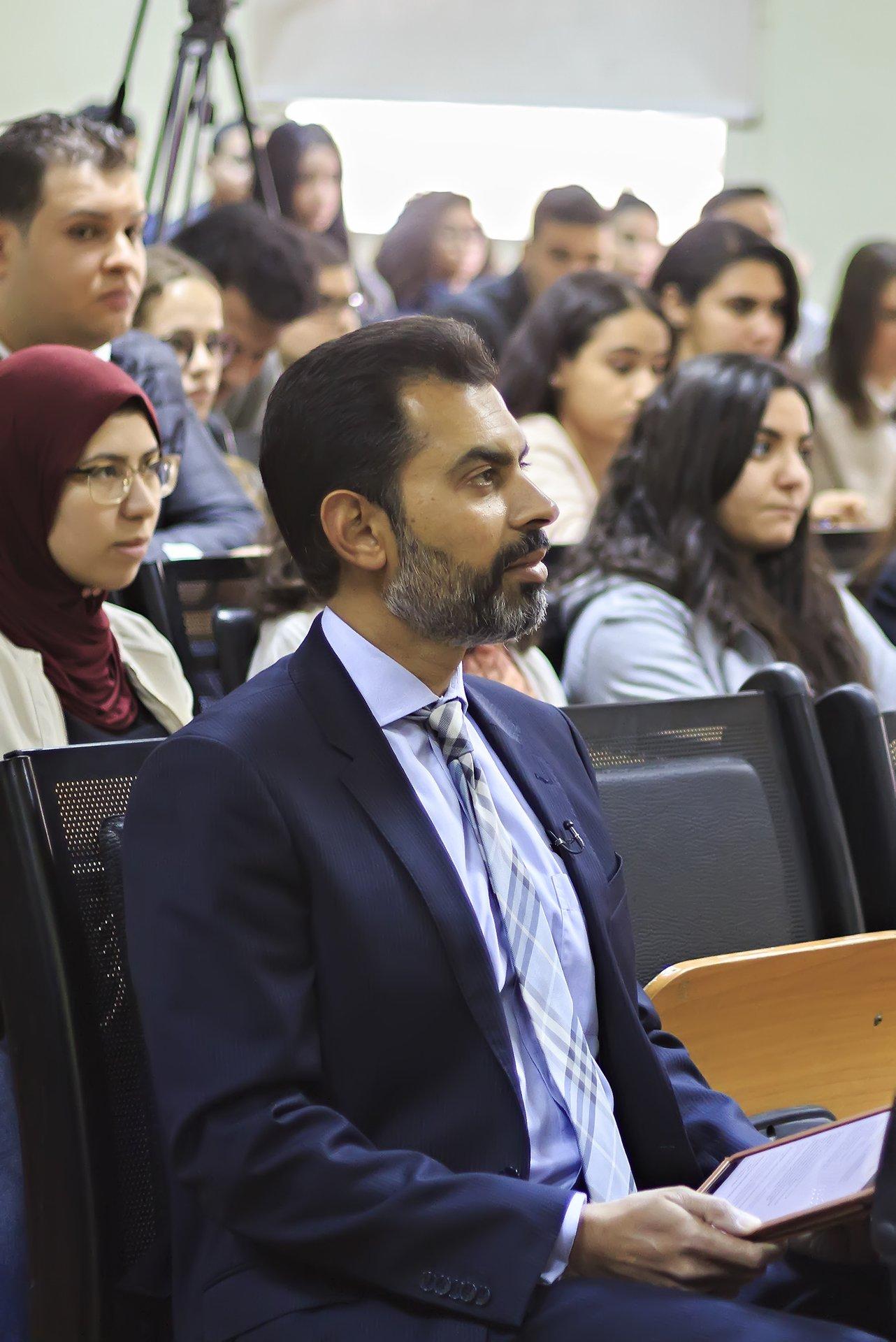 a file photo of dr reza baqir