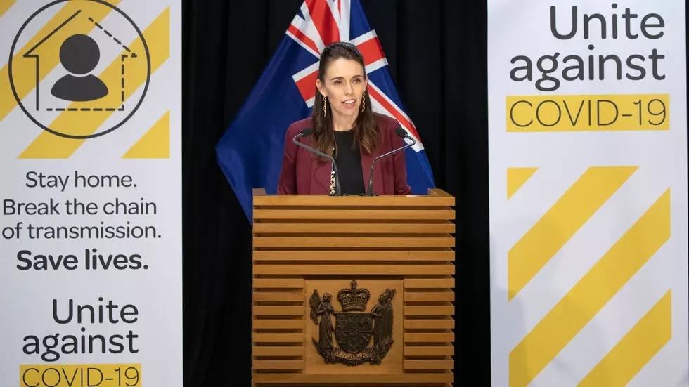 new zealand 039 s prime minister jacinda ardern said she had only considered the election 039 in passing 039 as she deals with the covid 19 crisis photo afp