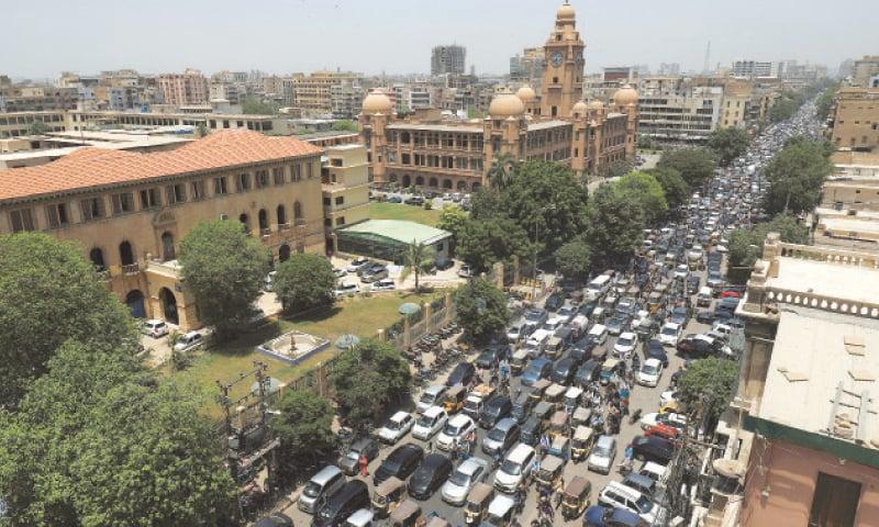 eased lockdown in karachi photo reuters