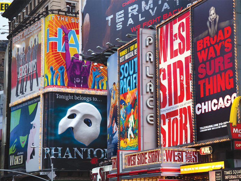 broadway to light up again in september