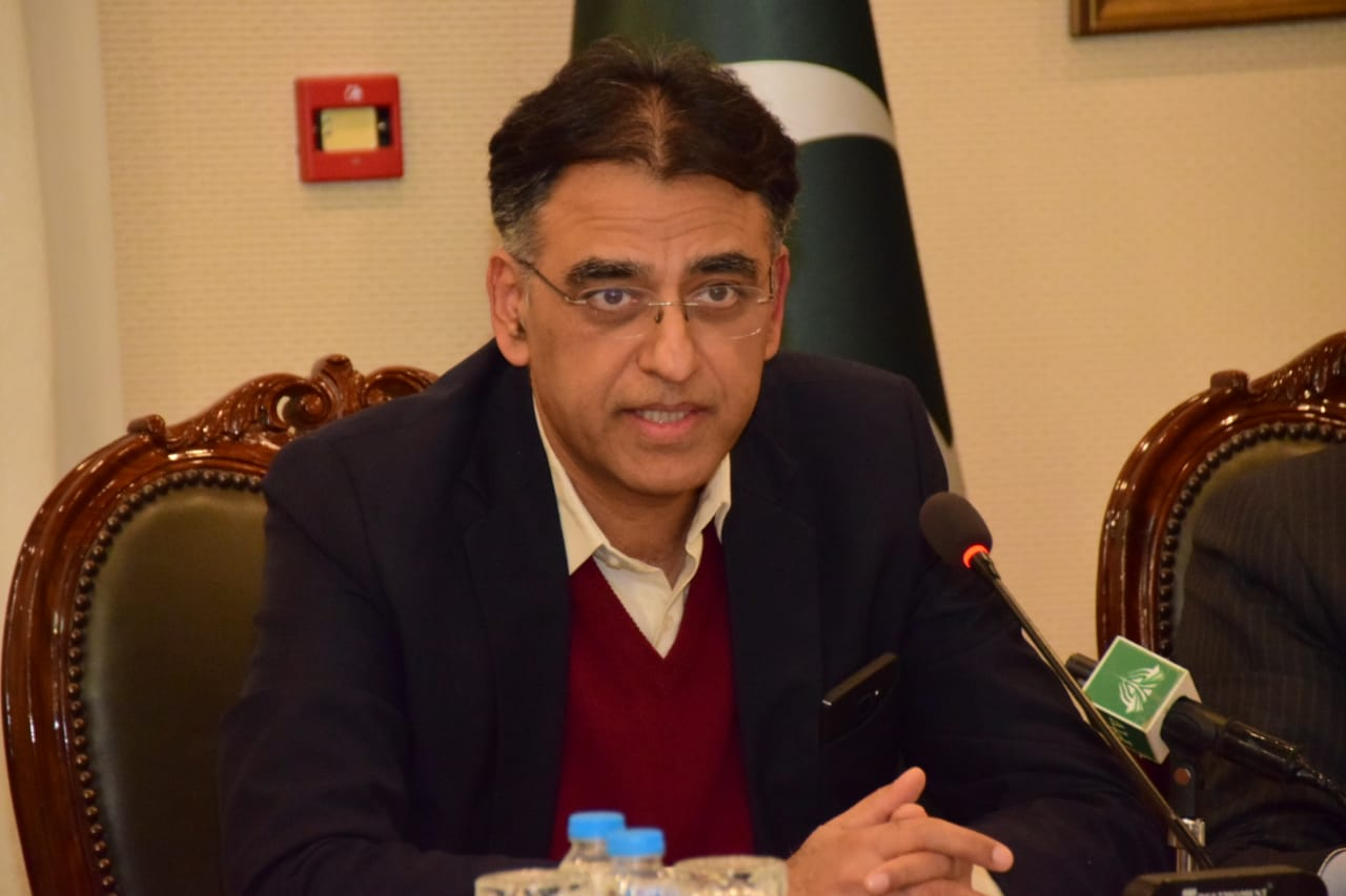 panning and development minister asad umar photo pti