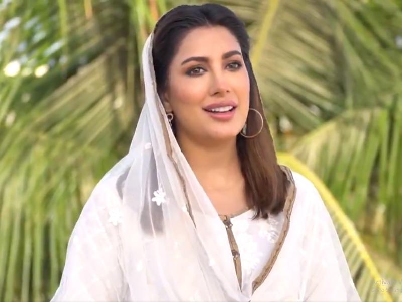 mehwish hayat recites a naat shuts down criticism