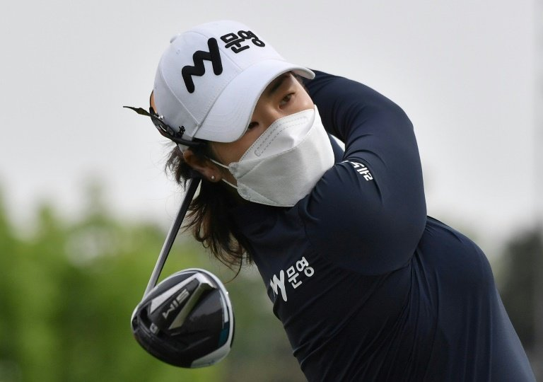 it is the first high level women 039 s golf to be played since the us based lpga suspended its season in february photo afp