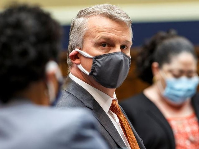 dr richard bright former director of the biomedical advanced research and development authority prepares to testify before a house energy and commerce subcommittee on health hearing to discuss protecting scientific integrity in response to the coronavirus outbreak on capitol hill in washington photo reuters
