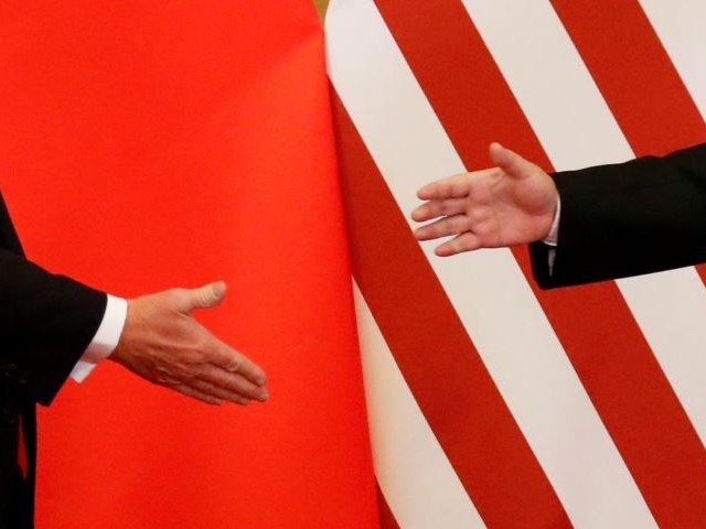 us president donald trump and china 039 s president xi jinping shake hands after making joint statements at the great hall of the people in beijing china photo reuters file