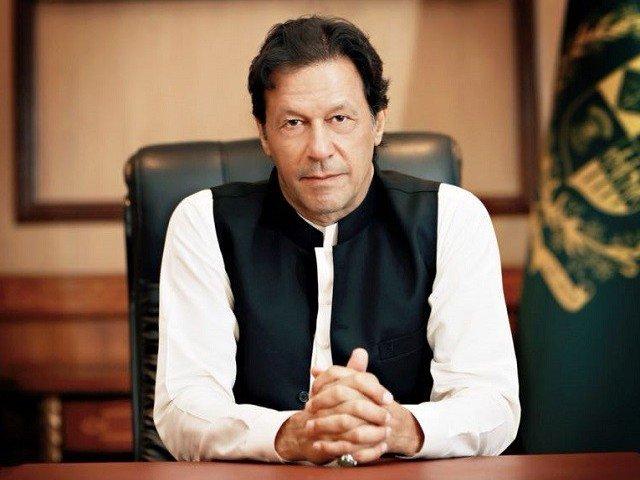 A file image of PM Imran Khan.