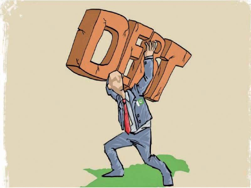 Under the PTI government, the domestic debt has increased by a staggering Rs5.933 trillion, or 35%, in two years to Rs22.937 trillion by the end of March 2020. PHOTO: FILE