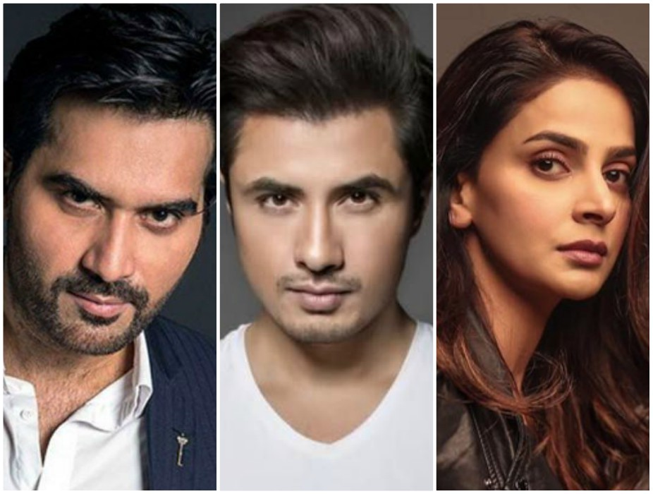 humayun saeed saba qamar and others join ali zafar to raise funds for covid 19 relief