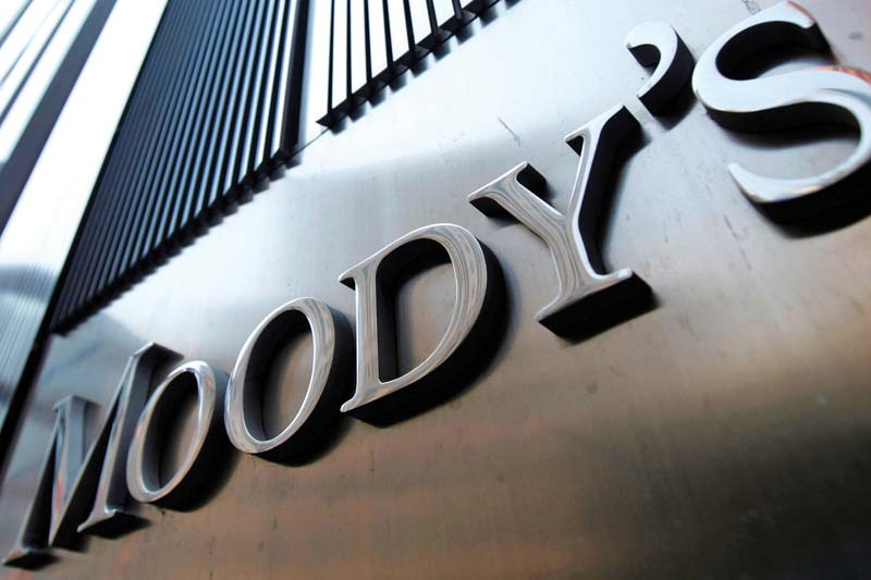 file photo of the moody 039 s sign on 7 world trade center tower in new york photo reuters