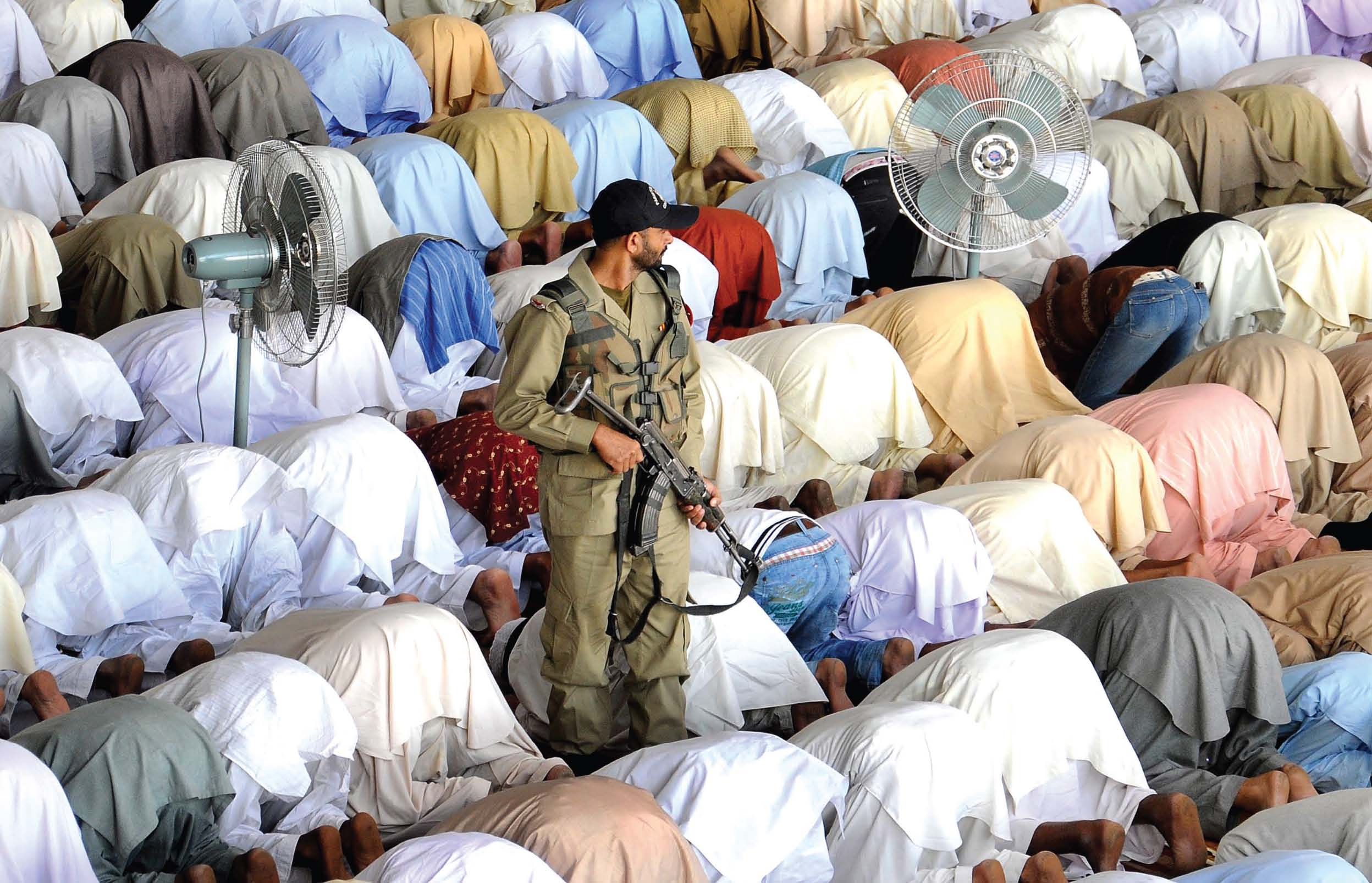 eid congregations to take place following centre 039 s 20 point guidelines photo express file