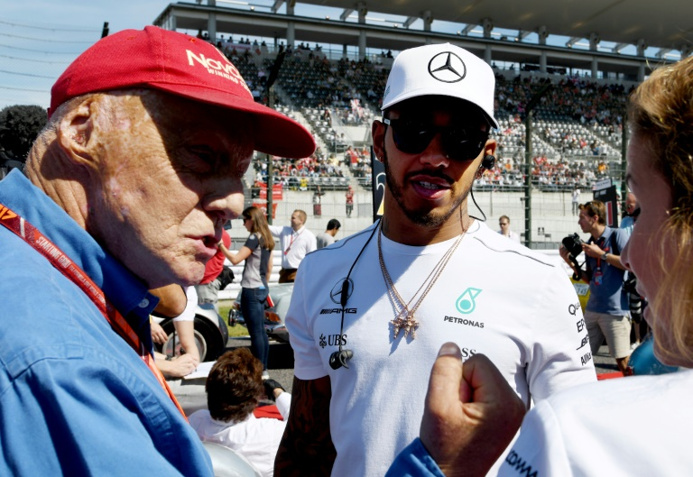 three time champion lauda passed away just before last year 039 s monaco grand prix at the age of 70 photo afp