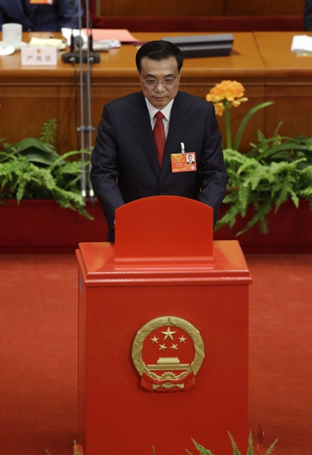 chinese premier li keqiang photo reuters file