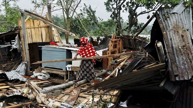 two countries have lost at least 102 people in the cyclone the most powerful in over a decade photo reuters file