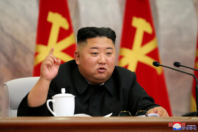 north korea s kim in first appearance in weeks vows to bolster nuclear deterrence