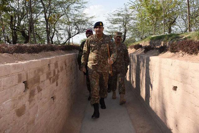 general qamar witnesses soldiers sniper training in bahawalpur garrison