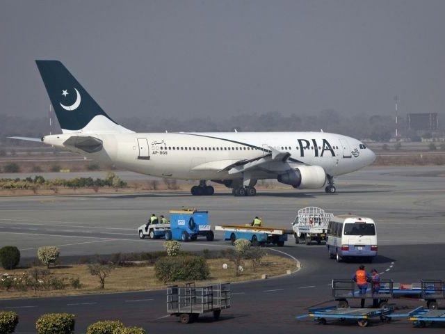 A Pakistan International Airline carrier. PHOTO: REUTERS/File