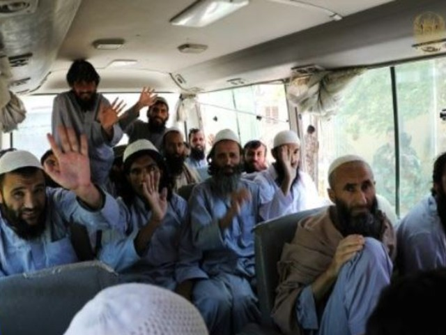 afghan govt frees taliban prisoners as truce holds for second day