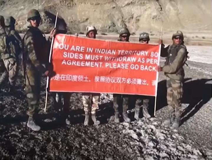 tribune fact check china india standoff in ladakh
