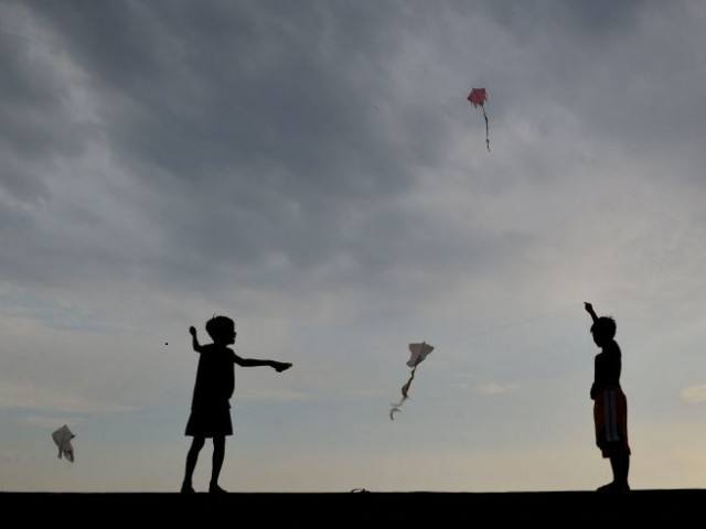 in rawalpindi kite string slits minor s throat