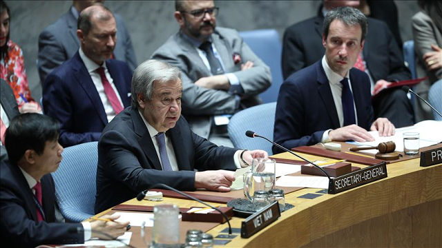 un chief laments lack of support for global cease fire