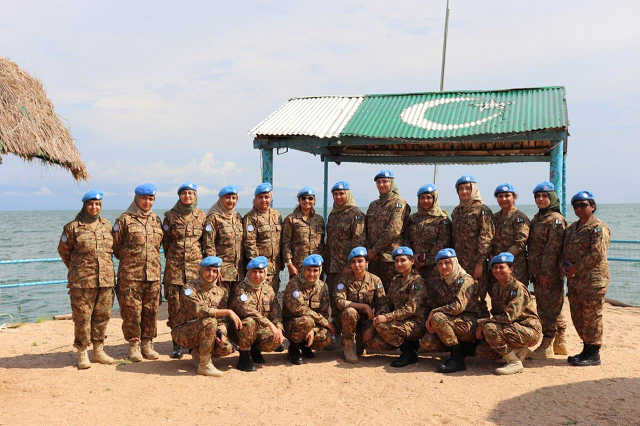 in pictures pakistan s role in un peacekeeping missions