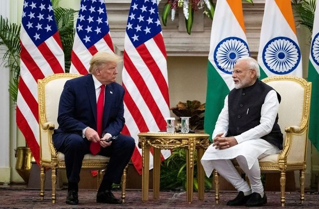 no call between trump and modi on china border tension official source
