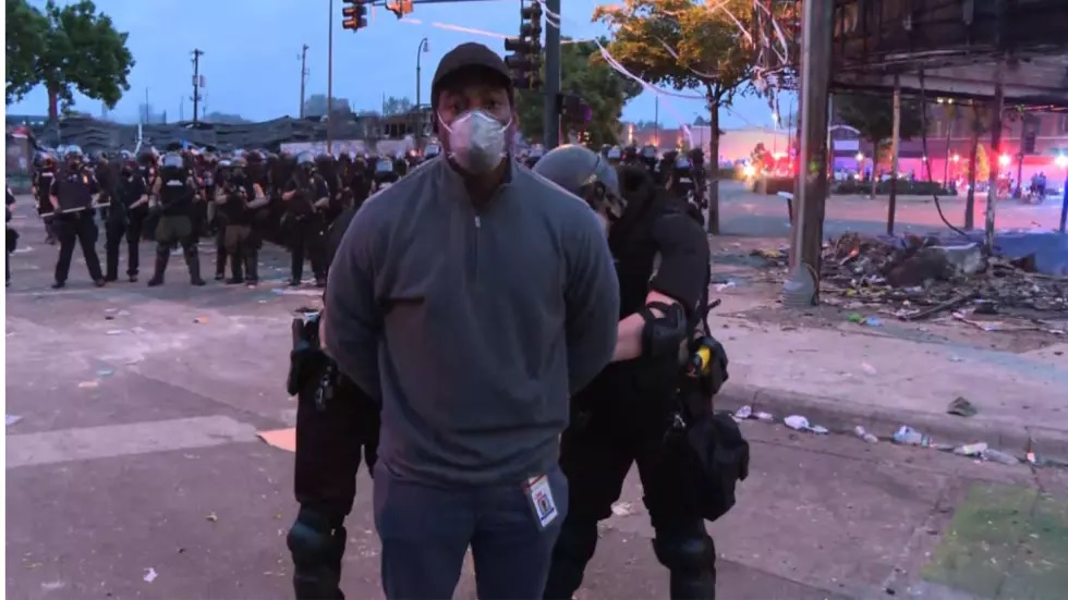 black cnn reporter crew released after live arrest covering minneapolis riots