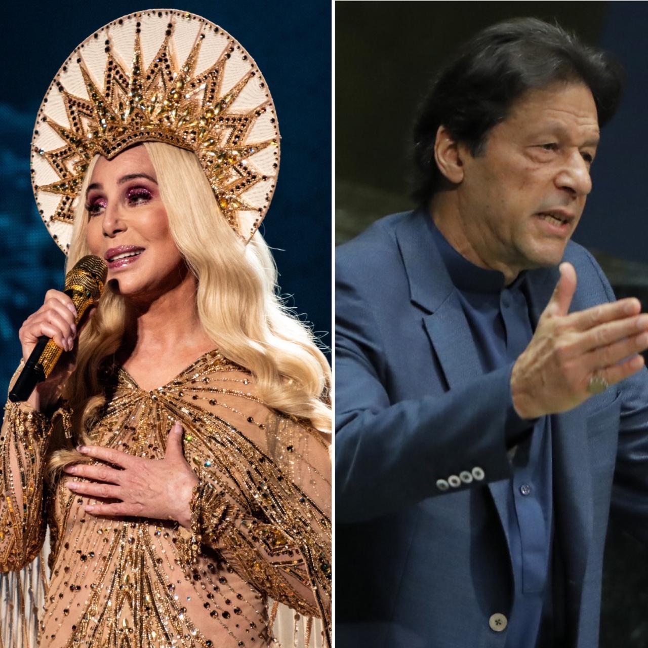 imran khan has found a longtime fan in pop goddess cher