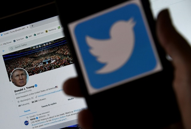searching racist on twitter brings up trump as top result